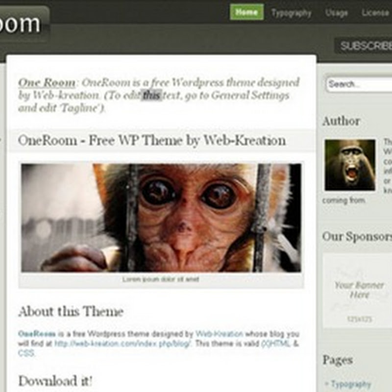 Plantillas Blogger y WordPress para decorar tu blog