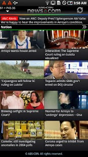 ABS-CBN News - screenshot thumbnail