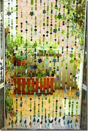 rosi jo': chain fly screens handmade