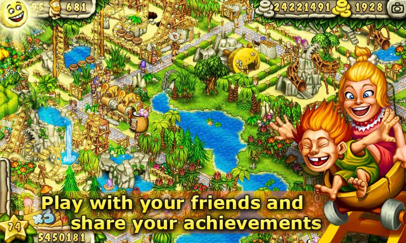 Prehistoric Park Builder screenshot #2