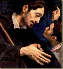Luis Tristán: San Roque peregrino