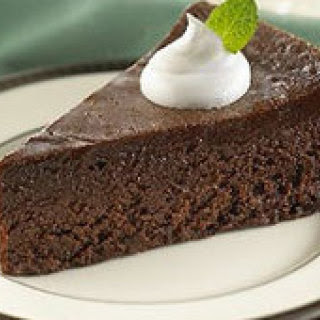 Andes Flourless Mint Chocolate Cake