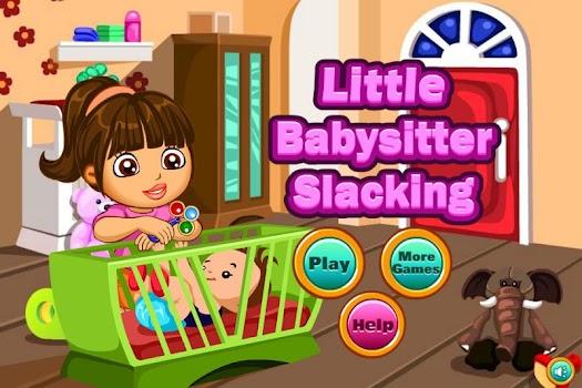 Little Babysitter Slacking