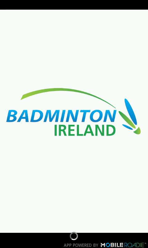 Badminton Ireland App - screenshot