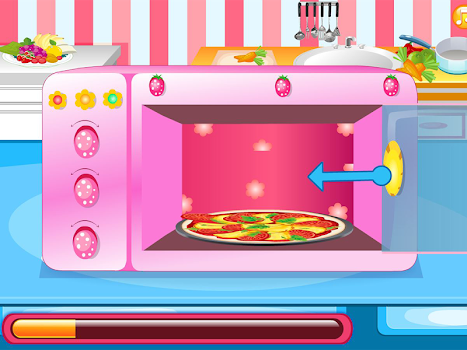 Yummy Pizza, Cooking Game
