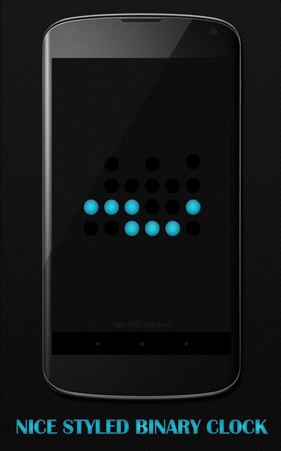 Binary Clock Daydream Lite- screenshot