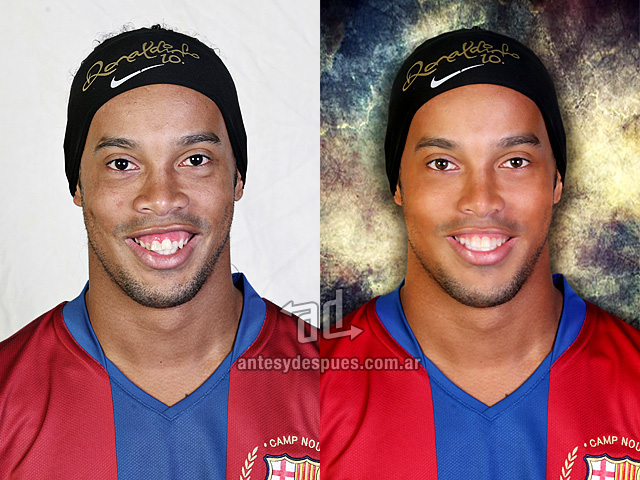 Ronaldinho without Photoshop