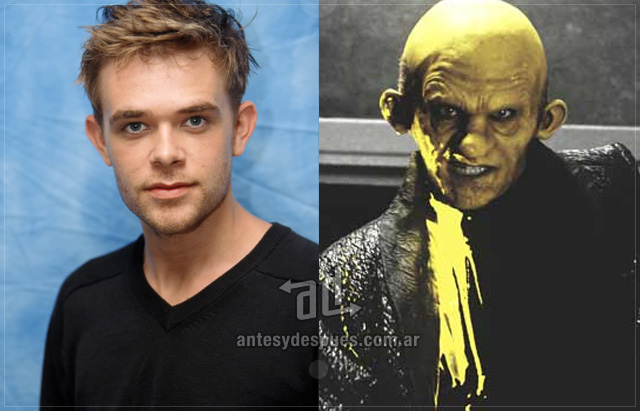 Nick Stahl behind the mask