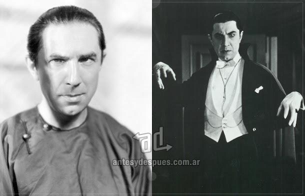 Bela Lugosi sin máscara