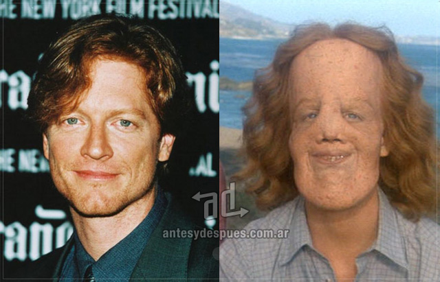 Eric Stoltz behind the mask