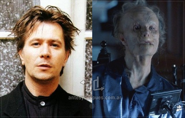 Gary Oldman behind the mask