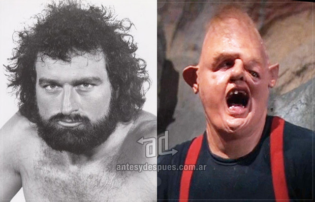 John Matuszak behind the mask