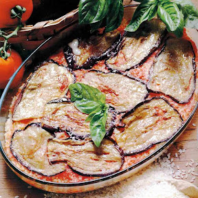 parmigiana di melenzane e patate
