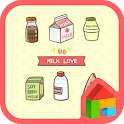 Milk Love Dodol Theme