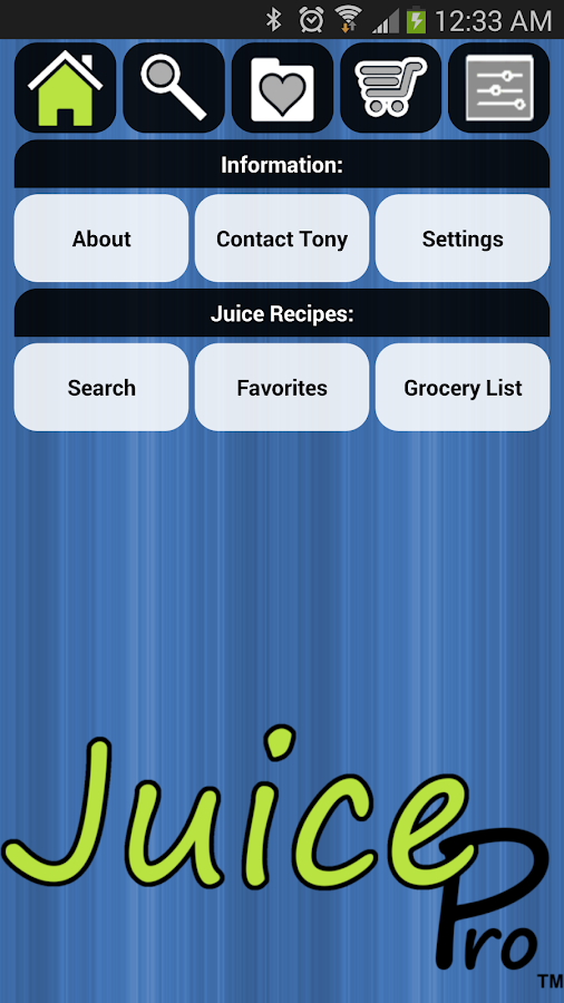 Juice Pro- screenshot