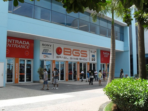 Entrada do Brasil Game Show