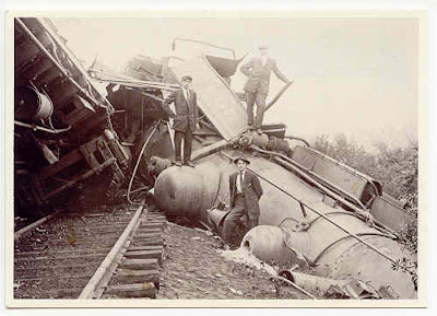 No  34: Bennington Train Wreck - Bygone Bennington on WBTN-AM 1370