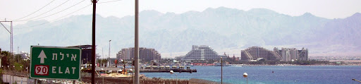 Skyline van Eilat