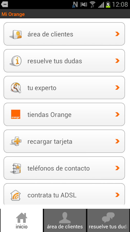 Mi Orange - screenshot
