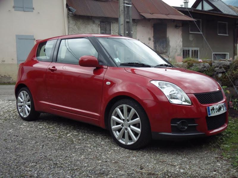 bastenix suzuki swift sport rouge votre voiture page 2. Black Bedroom Furniture Sets. Home Design Ideas