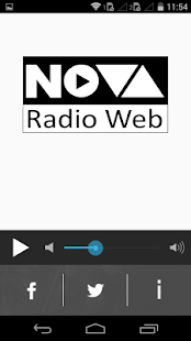 Nova Rádio Web- screenshot thumbnail