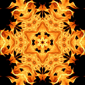 Fire II by Dominic Jacob - Illustration Abstract & Patterns ( abstract, abstract art, yellow, fire, flame,  )