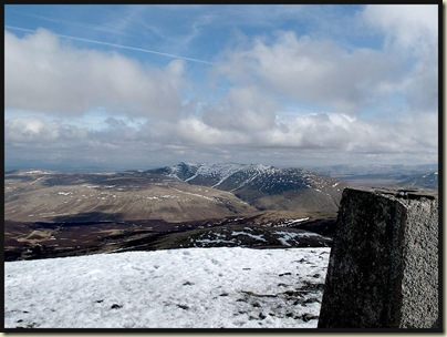 Blencathra, from the summit of Skiddaw