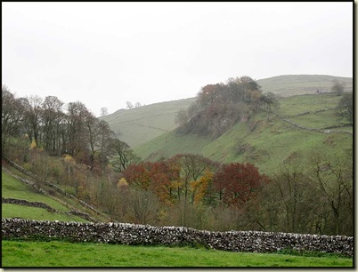 Looking down to Wolfscote Dale