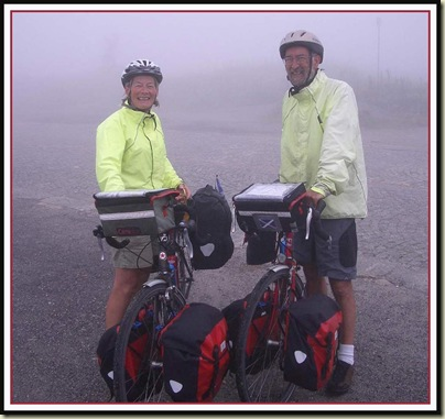 Val Hadden and Merv Savage on the Neufenen Pass