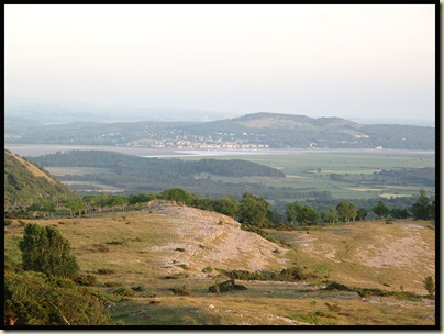 Arnside, the Kent Viaduct, and Arnside Knott