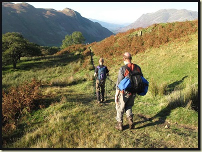 Descending to Patterdale
