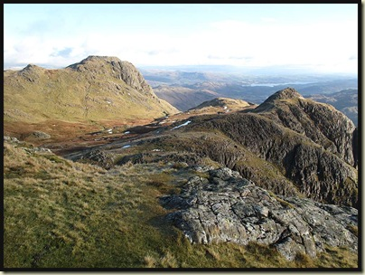 Looking back to Harrison Stickle from Pike O' Stickle