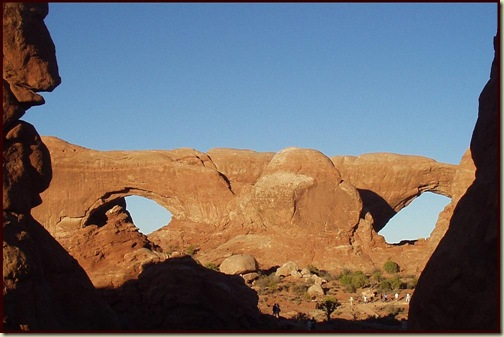 Arches National Park - North Window and South Window