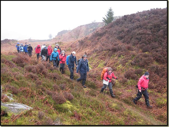 Our group on Muncaster Fell