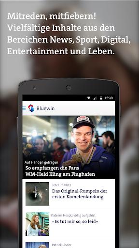 Bluewin App