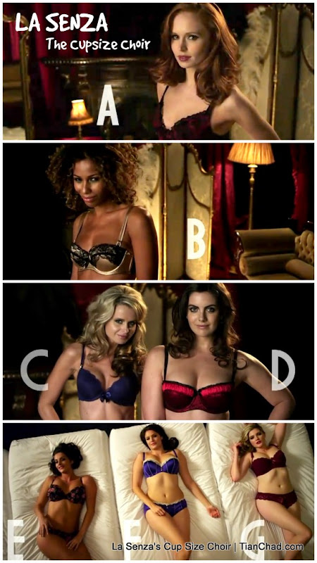 Seven girls with bra sizes A to G make up the musical notes of the Cup Size  Choir. Watch the film and enjoy. 055c6c870