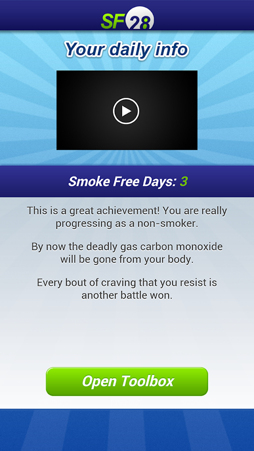 Smoke Free 28 (SF28)- screenshot
