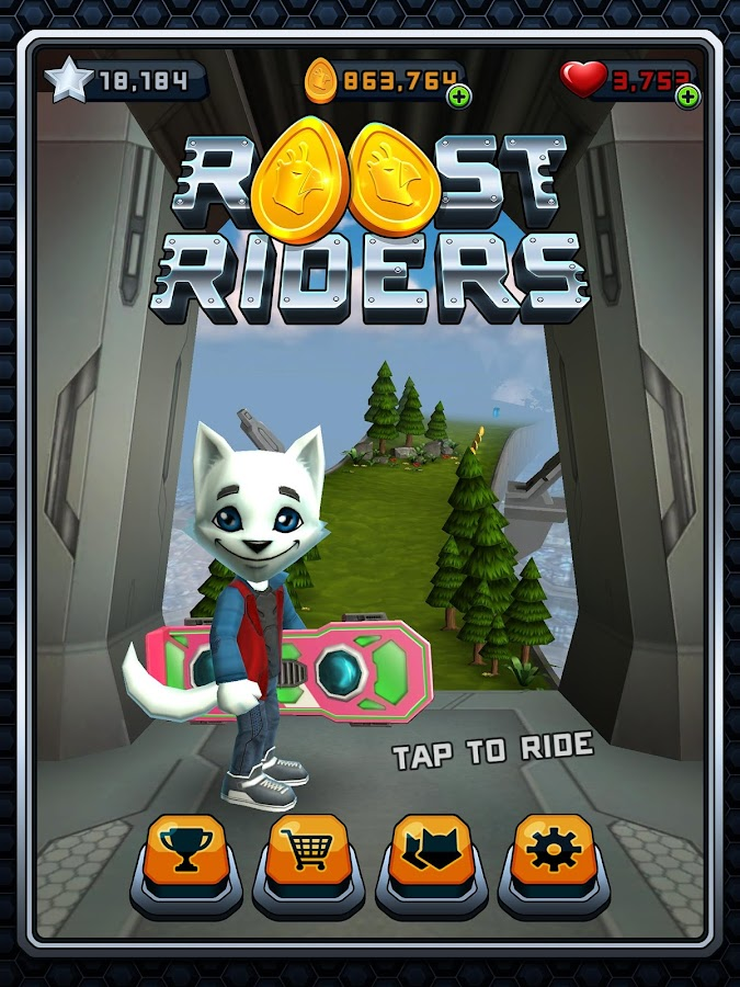 Roost Riders- screenshot