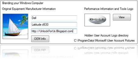 f563c0b0aa Easily Remove or Set the OEM Logo and Support Information in Windows  7 Vista XP