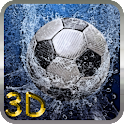 Football 3D logo