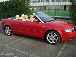 Audi A4 カブリオレ 04y 実践半年目