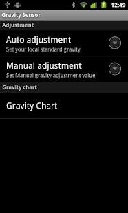 Gravity meter- screenshot thumbnail