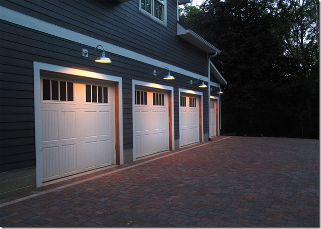 The Quot L Quot Shaped House Electrical Garage Lights