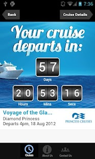 Cruise Countdown - screenshot thumbnail