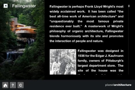 F. L. Wright – Fallingwater - screenshot thumbnail