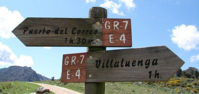 Señal sendero GR 7
