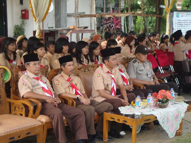 SMAN GAUL SIAP MENGHADAPI JAMBORE NASIONAL 2011-Pelantikan Pramuka Kelas X 2011 SMAN 3 Unggulan Kayuagung