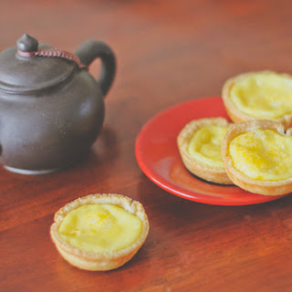 Jasmine Tea Egg Tarts