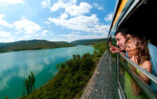 Tren dels Llacs Lleida - La Pobla de Segur 20 Juny 2009