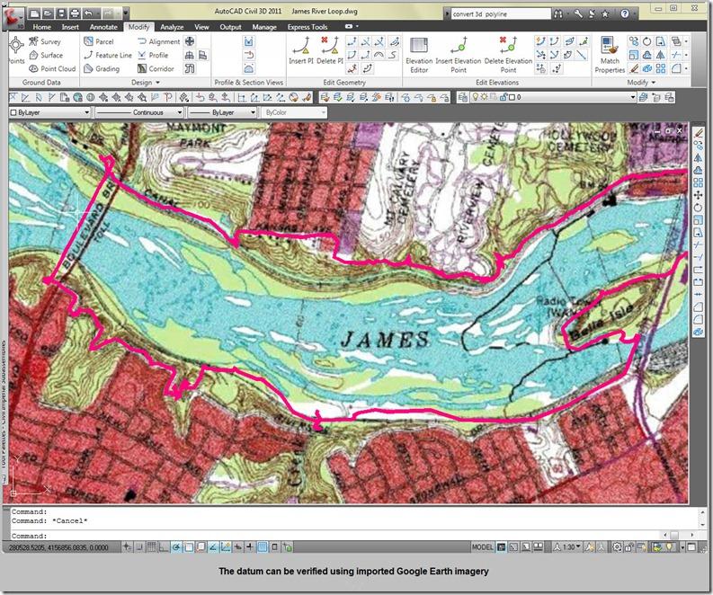 Fixin Streams: Import Garmin Mapsource GPS tracks into